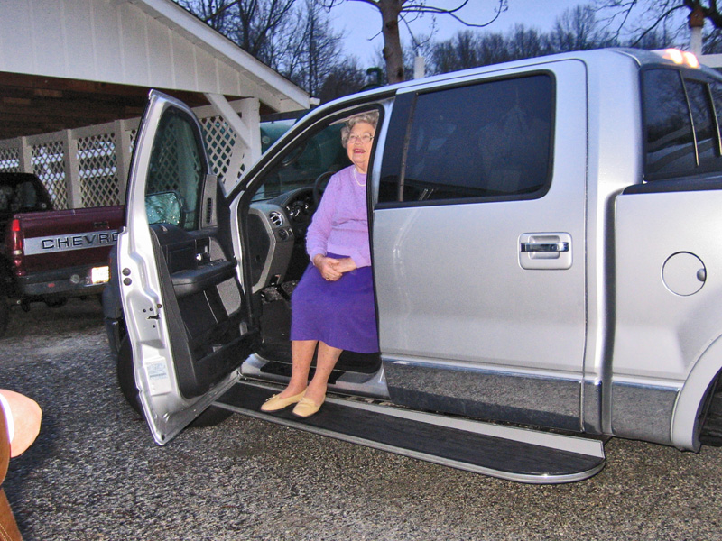 Custom Running Board Lifts